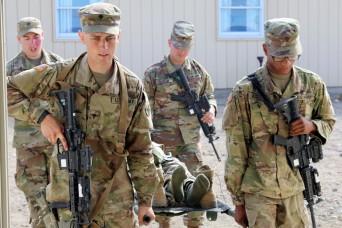 Rising Thunder Guardsmen expand skills with combat lifesaver training