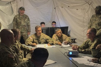 Army Guard conduct training at historic Camp Roberts