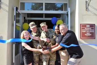 Soldier and Army Family resiliency gets boost at new spiritual life center