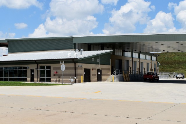 The new multi-million dollar centerpiece of Blue Grass Army Depot's consolidated shipping center.
