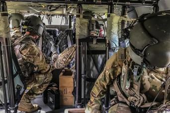 1CAB Air Crews Hone Aerial Gunnery Skills