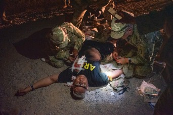 Mass casualty exercise prepares combat medics from multiple units