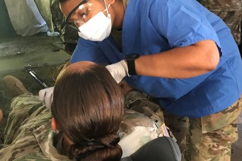 Army dentists hone readiness skills in the field