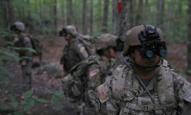 Sgt. 1st Class Will Roth, Enhanced Night Vision Goggles - Binolcular