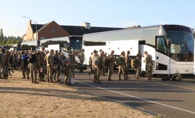 Lancer Brigade Deploys to the National Training Center