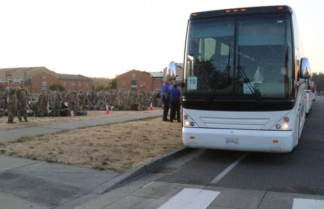 Lancer Brigade Departs for National Training Center
