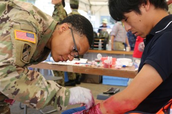 Camp Zama, neighboring city enhance readiness during disaster drill