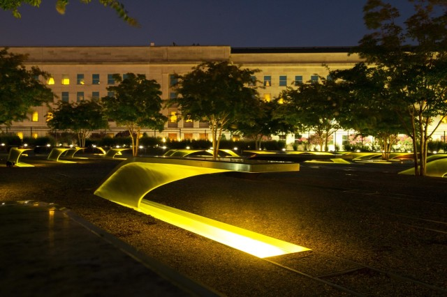 A hijacker flew American Airlines Flight 77 into the southwest corner of the Pentagon that day, killing 184 people — all on board the plane and many more inside the building, which was heavily damaged. The Pentagon has since rebuilt, and an important addition to the grounds is the National 9/11 Pentagon Memorial honoring those who were lost.