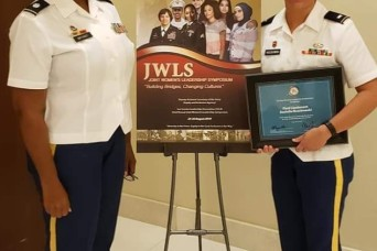 130th Engineer recognized for Leadership during Joint Women's Leadership Symposium