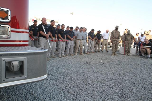 Camp Arifjan, ARCENT Commemorate 9/11