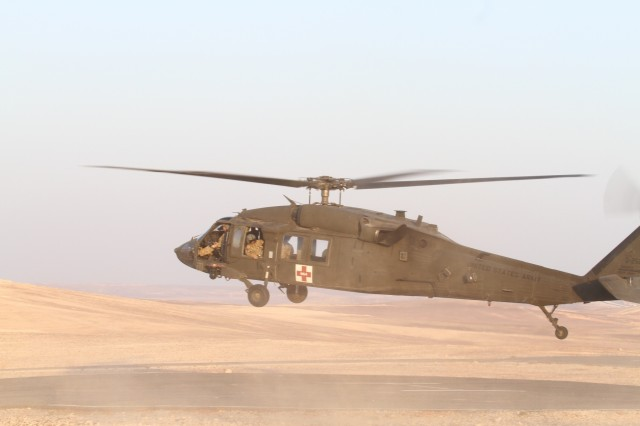 Silver Lions conduct Eager Lion medevac prep