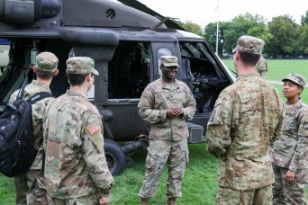 Assigning branches to cadets takes on new system