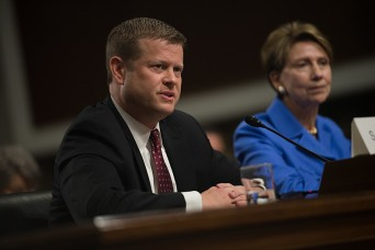 Former Army ranger testifies at confirmation hearing for Army secretary