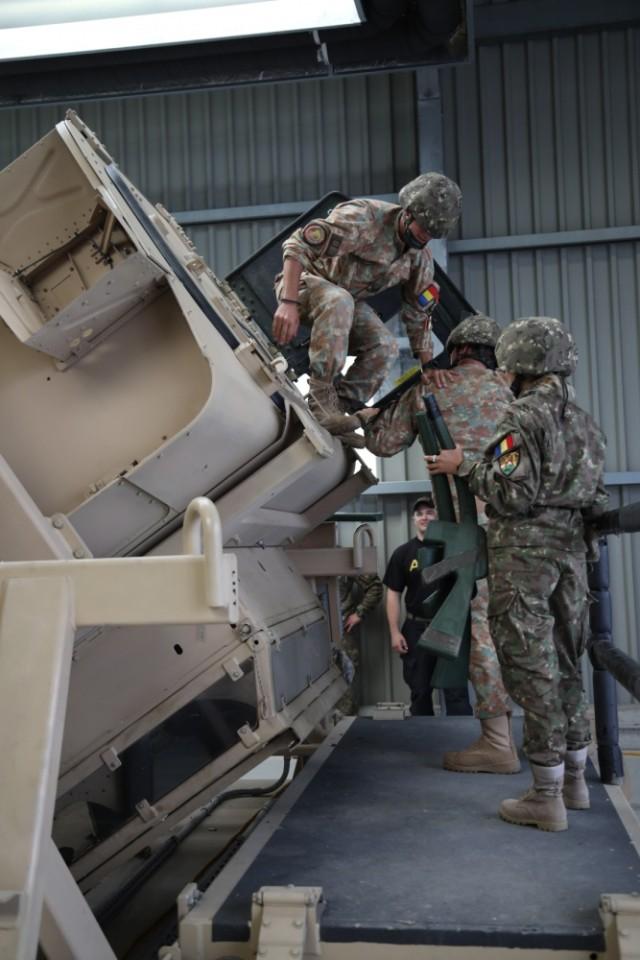 HMMWV Egress Assistance Training