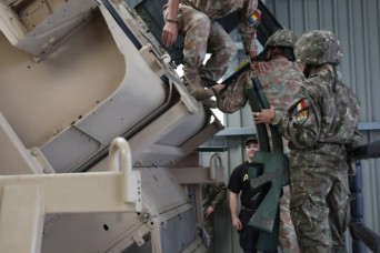 Partner nations take on U.S. roll-over training