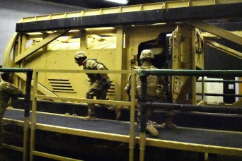 30th Armored Brigade Combat Team takes a ride in the HEAT