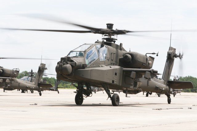 82nd CAB receives its first Apache AH-64E Guardian