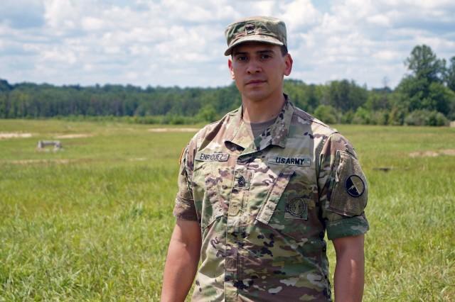 CYBER SNAPSHOT: Staff Sgt. Andrew Enriquez