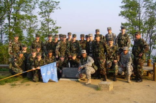 Then Captain Yi, takes Company Command on top of Hill 303, at Camp Carroll, Korea. This is a heritage spot for the 24th Infantry, where his grandfather served in the Korean War, bringing three generations of his family serving on Korean soil.