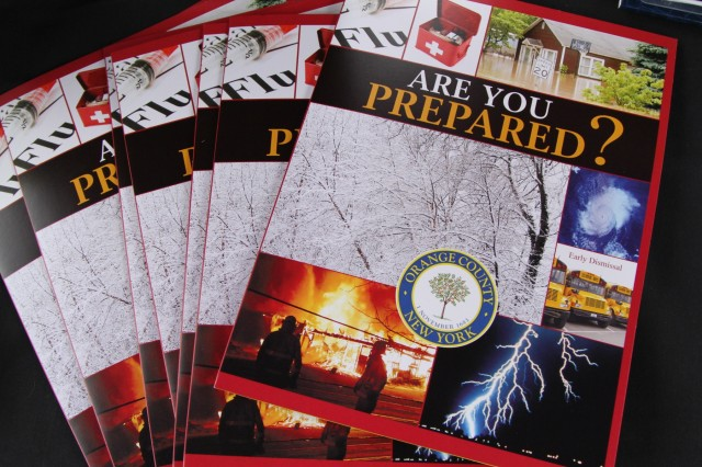 Pamphlets, brochures, flyers and booklets are among the many educational materials found at the Emergency Preparedness Fair. The fair took place at West Point Saturday.