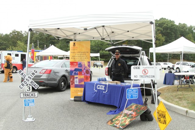 The annual Emergency Preparedness Fair was hosted at West Point Saturday. Agencies that attended included local, state and federal organizations such as Homeland Security, National Weather Service, Red Cross, Orange County Sheriff Office and the West Point Fire Department, amongst others.
