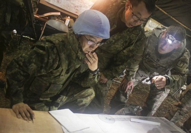 Bilateral Planning of a Live Fire Exercise