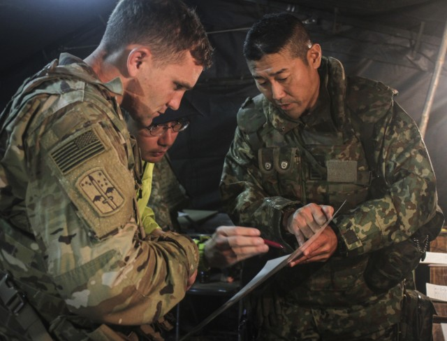 Battalion Commanders Discuss Field Artillery Live Fire Operations