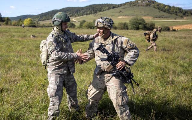 Turkish American Paratrooper Partnership