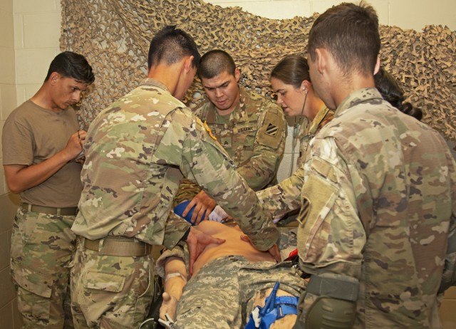 Upgraded medical mannequins enhance realistic, rugged training