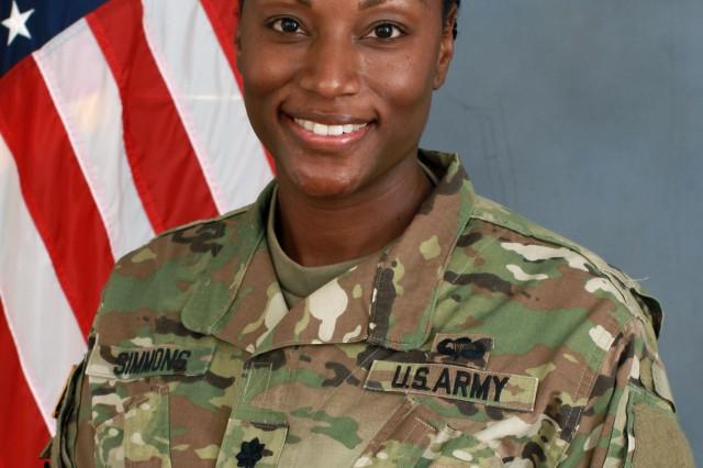U.S. Army Pacific Support Unit, Japan Detachment Commander Lt. Col. Tanya E. Simmons
