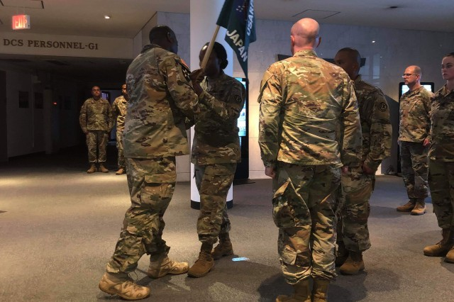 Lt. Col. Tanya E. Simmons assumed command as Battalion Commander of U.S. Army Pacific Support Unit, Japan Detachment, on August 18.