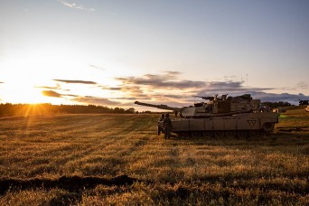 Battle Group Poland conducts rapid response exercise