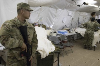 Soldiers, Airmen and Sailors train to save lives at Camp Parks