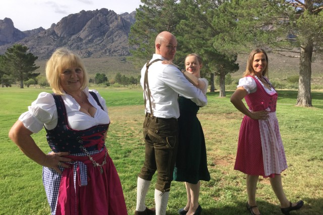 Performers are practicing to dance at the WSMR Oktoberfest on Sept. 28, 2019 at White Sands Missile Range, the event kicks off at 6 p.m., and tickets are on sale now.