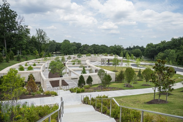 Columbarium Courts 10 and 11 of Arlington National Cemetery, Arlington, Va., July 20, 2018.