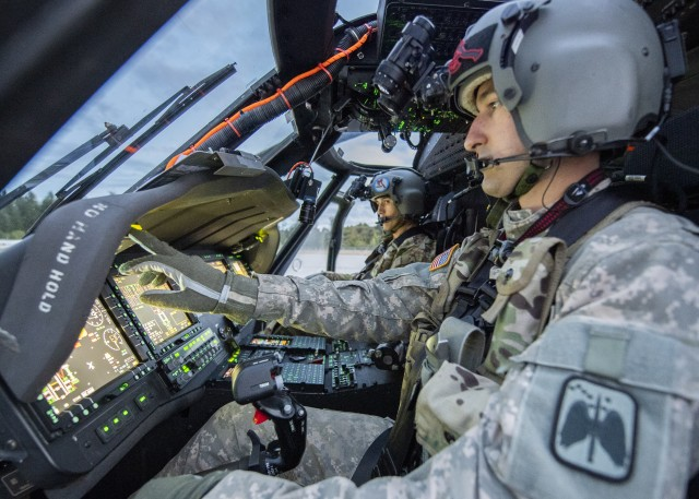 Army conducts Initial Operational Test of modernized UH--60V Black Hawk helicopter digital cockpit