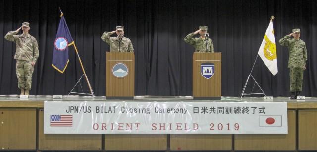 Orient Shield 2019 Closing Ceremony Sept. 24, 2019