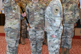 USAG Ansbach HHC welcomes new First Sergeant