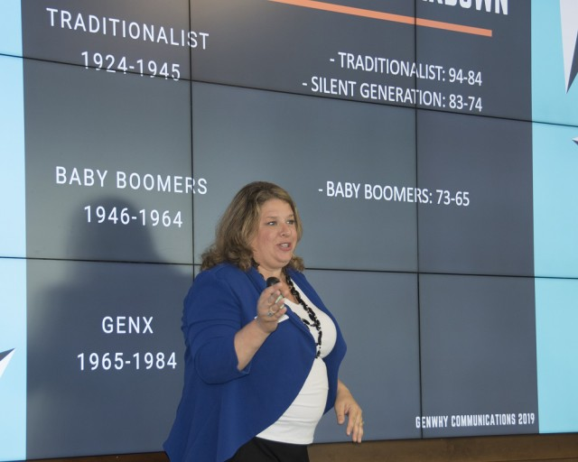 Workplace training helps bridge generation gaps