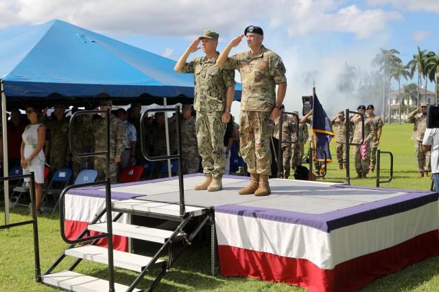 U.S. Army Pacific Bids Aloha to Commanding General Robert Brown
