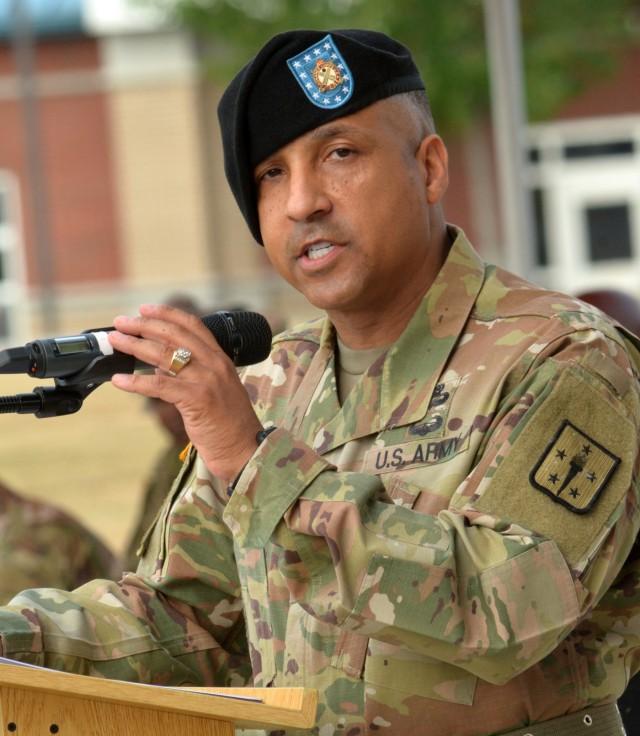 Casarez becomes 14th Regimental CSM of Ordnance Corps