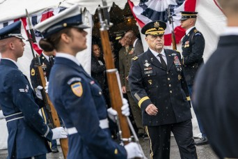 Milley takes oath as 20th Chairman of Joint Chiefs of Staff