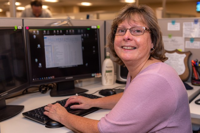 Information Technology Specialist Lisa Rosario knows her way around several data management systems. Her depot career spans more than 30 years. Rosario is the Tobyhanna Army Depot Employee of the Quarter for the third quarter, senior category.