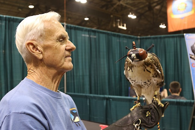 Falconry and the expo