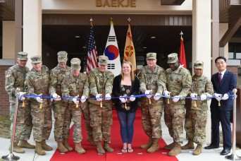Camp Walker celebrates opening of 2nd Army Family Housing tower
