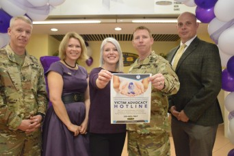 October marks Domestic Violence Awareness Month at USAG Italy
