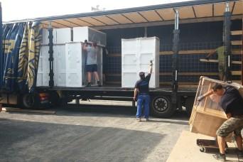 USAG Bavaria Center Furnishings Program replacing furniture in barracks
