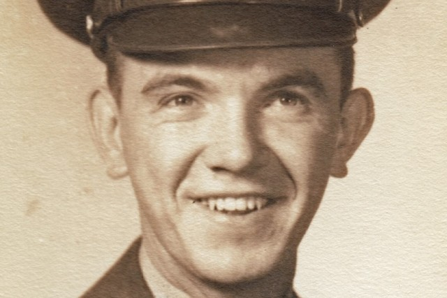 Second Lt. Ed Portka, prior to deploying to Korea with an engineering unit under the 1st Cavalry Division, where he was responsible for breaching minefields.