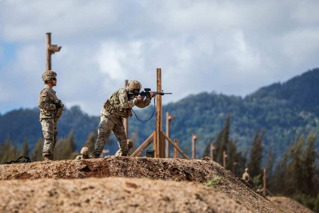 Soldiers from the 25th Infantry Division with varying skill levels prepared for the new marksmanship standards by conducting a pilot program to assess current installation support capabilities at Schofield Barracks, Hawaii. Soldiers will now incorpor...