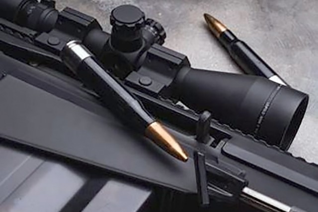 These 7.62 mm casings are made using polymer, a promising material for reducing the weight of ammunition.